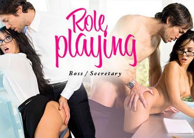 Role Playing- Boss/Secretary – Megan Rain, Jean (2016)