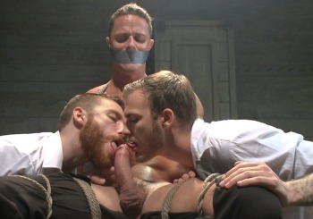 Ivan Gregory Tortured To Orgasm (MenOnEdge / 2015)