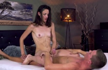 Skinny raven haired nymphomaniac – Miky Love (2016)