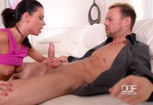 Time For Two – Stunning New Face Loves Cum On Belly – Monika Benz, Erik Everhard