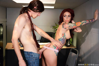 Becoming Johnny Sins – Part Two – Monique Alexander, Danny D (Brazzers / BigTitsAtWork / 2016)