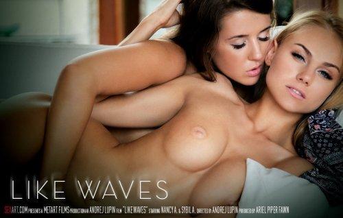 Like Waves – Nancy A, Sybil A (SexArt / 2016)