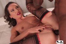 Lusty Russian babe Nataly Gold gets brutally fucked and roughed up by BBC (2017)