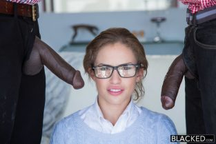 Teen Threesome with Two Monster Dicks – Natasha White, Jason Brown (2014)