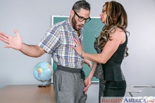 Nina Dolci & Damon Dice in My First Sex Teacher (2016)