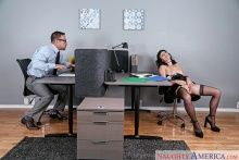 Olive & Johnny Castle in Naughty Office (2016)