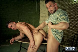 Prisoner of War 2 – Paddy O'Brian bottoms for Alex Brando (2014)
