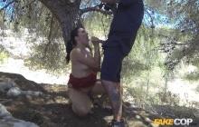 Spanish Slut Fucks Cop for Gasoline Trip – Pamela Sanchez, Monty (2016)