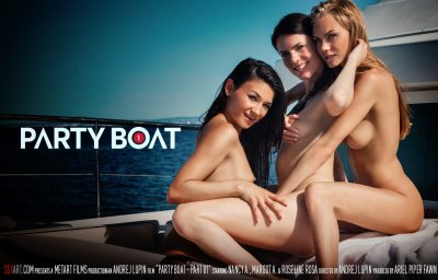 Party Boat Part 1 – Margot A, Nancy A, Rosaline Rosa (2016)