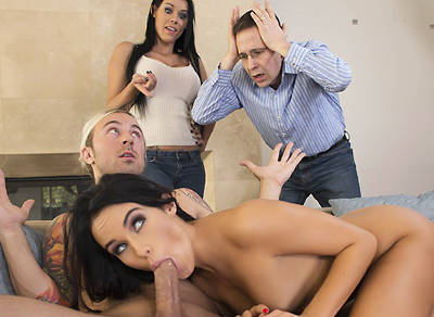 Sibling Rivalry 2 – Peta Jensen, Megan Rain & Chad Alva