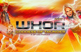 Whor: Godess of Thunder, A DP XXX Parody Part 1 – Phoenix Marie, Danny Mountain (2017)