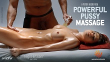 Powerful Pussy Massage – Jolanta Leonaviciute (Hegre / 2014)