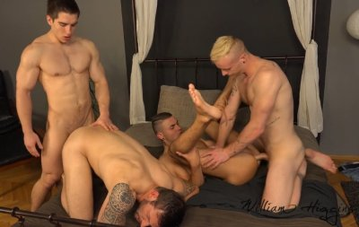 Wank Party #1 – Rado Zuska, Tom Vojak, Erik Drda and Milos Ovcacek