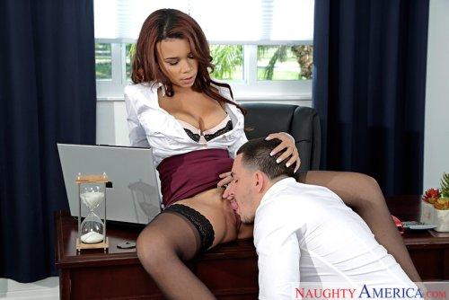 Raven Redmond & Peter Green in Naughty Office