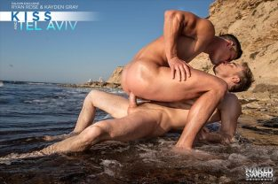 Kiss And Tel Aviv – Scene 1 – Kayden Gray, Ryan Rose