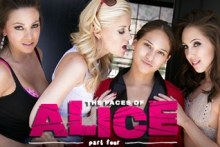 The Faces of Alice: Part Four – Sara Luvv, Serena Blair, Abigail Mac, Charlotte Stokely, Jenna Sativa (2016)