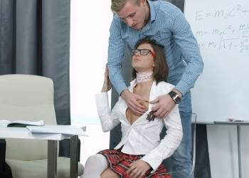 Nerdy Slut Gets Drilled – Sara (2016)