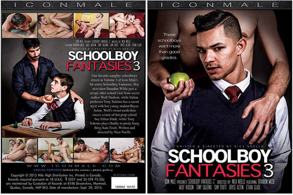 Schoolboy Fantasies 3 – Full Movie (IconMale / 2015)