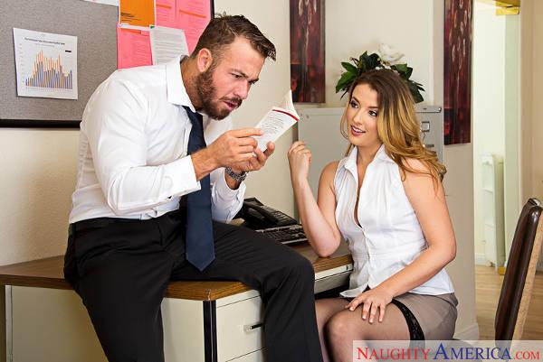 Shauna Skye & Chad White in Naughty Office (2016)