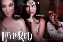 Little Red: A Lesbian Fairy Tale: Part Two – Shyla Jennings, Penny Pax, Cassidy Klein (2016)