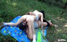 ScambistiMaturi – Hot outdoor swinger sex with mature Italian brunette – Silvia, Kevin (2017)