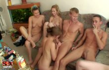StudentSexParties – College orgy with lots of booze 1 (2011)
