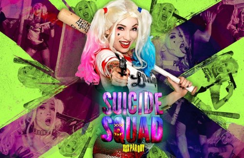 Suicide Squad: XXX Parody – Aria Alexander
