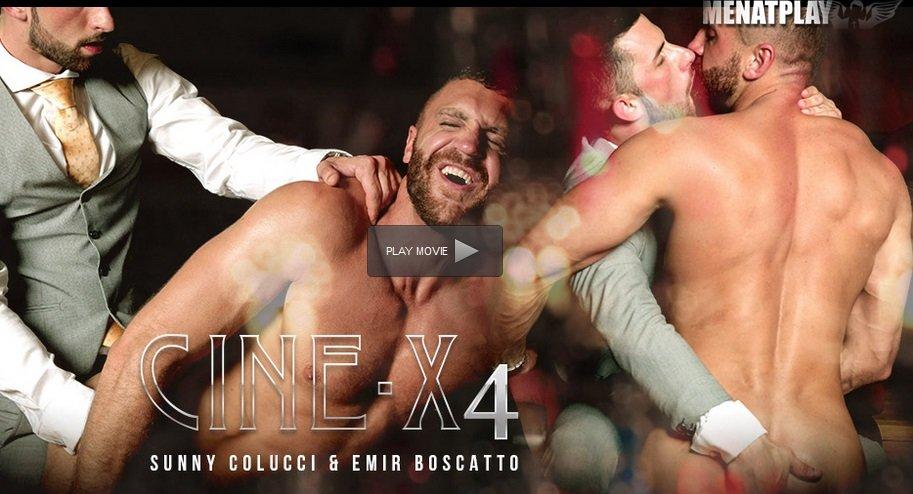 CINE-X 4 – Emir Boscatto, Sunny Colucci