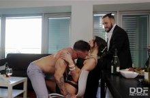 Irresistibly Hot: Russian Stripper Sucks Rock-Hard Dick – Verona Sky, Emilio Ardana (2017)