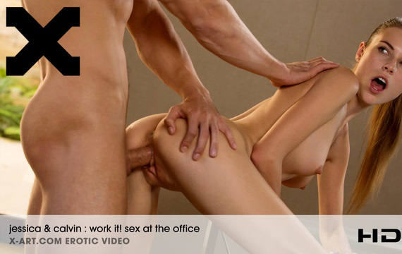 Work It Sex at the Office – Jessica & Calvin (X-Art / 2016)