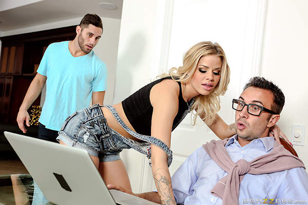 Your Father Fucks Me Harder – Jessa Rhodes, Keiran Lee (Brazzers / 2015)