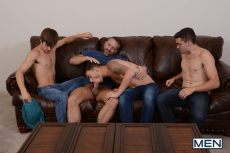 Stepfather's Secret, Part 8 | Asher Hawk, Dirk Caber, Johnny Rapid, Trevor Spade | 2016