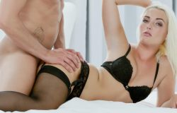 TheWhiteBoxxx – Sensual Czech blondie Lovita Fate gets creampie in hot glamcore fuck (2017)