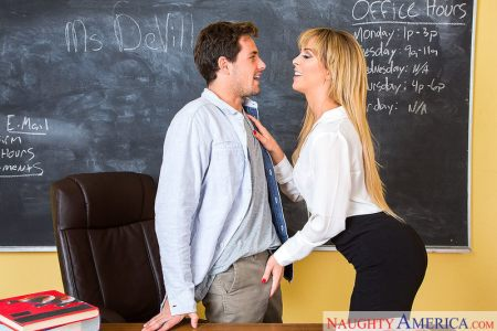 Cherie DeVille & Tyler Nixon in My First Sex Teacher | 2018
