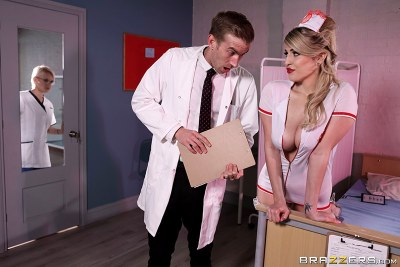 Naughty Nurse's First Day | Marcia Chanelle, Danny D