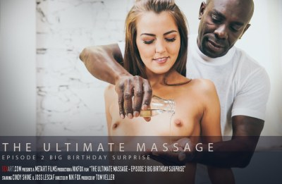 The Ultimate Massage Episode 2 – Big Birthday Suprise | Cindy Shine, Joss Lescaf