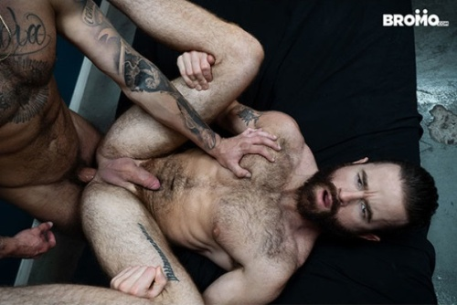 Tied and Teased | Blake Ryder & Brendan Patrick | Bareback