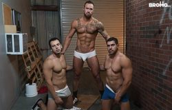 Whore Alley Part 4 – Michael Roman & Damien Stone – Bareback (2017)