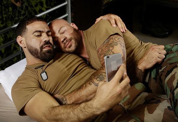 Barracks Buddies | Ricky Larkin & Sean Duran | Bareback