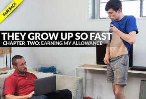 They Grow Up So Fast: EARNING MY ALLOWANCE | Myles Landon | Bareback