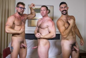 Three Men One Pornstash, Part 2 | Beau, Brandon Ashton & Jay Austin | 2018