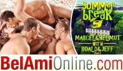 Summer Break Episode 10 – Jeff Mirren, Marcel Gassion, Roald Ekberg & Helmut Huxley – Bareback – Part 2 (2017)