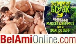 Summer Break Episode 10 – Jeff Mirren, Marcel Gassion, Roald Ekberg & Helmut Huxley – Bareback – Part 2 (2017)