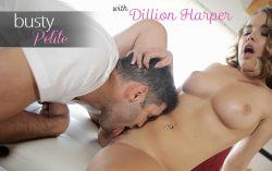Busty Petite – Dillion Harper, Damon Dice (2017)