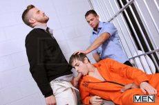 Prison Shower 4 | Johnny Rapid, Landon Conrad, Cooper Reed | 2016