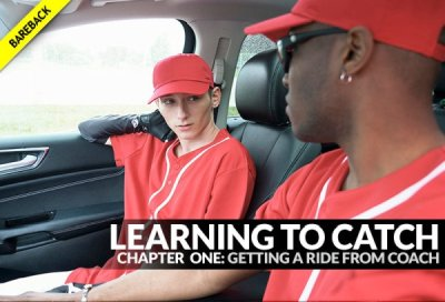 Learning To Catch, Chapter 1: Getting A Ride From Coach | Ethan Thomson & Justin Stone | Bareback