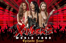 Xander's World Tour – Ep.4 | Abigail Mac, Gina Valentina, Lena Paul & Xander Corvus | 2018