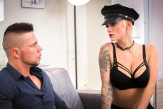 Short haired blonde enjoys hardcore sex abroad | Mila Milan, Angelo Godshack | 2018