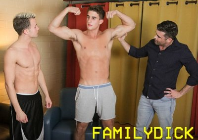 A Special Place in Daddy's Heart | Chapter 4: Flex for Your Old Man, Part 2 | Lance Hart, Logan Cross & Zane | Bareback