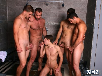 Jizz Shower | Spencer Reed, Tommy Defendi, Jimmy Johnson, Jack King & Hunter Page